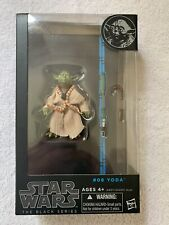"Star Wars Black Series 6"" YODA #06 - Blue Line - MIP 100% Complete"