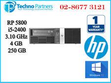 HP RP5800 Retail POS System Core i5-2400 4GB 250GB Windows10 Pro 1 Year Warranty