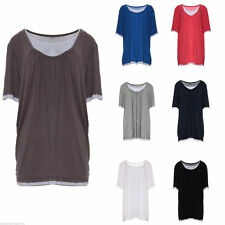 No Pattern Polyester Other Tops Plus Size for Women