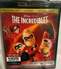 The Incredibles 4K Hd + Blu-Ray + Digital , Region A, Widescreen, Craig Nelson