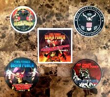 Five Finger Death Punch Got Your Six/Wrong Side Heaven/Capitalist Stickers Lot!