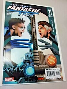 ULTIMATE FANTASTIC FOUR #21 1:10 Variant 2005 1st Appearance of MARVEL ZOMBIES