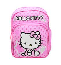 Hello Kitty Star Mini Backpack/School & Book Bag  for Kids Girls Sanrio Pink