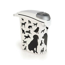 Conteneur d'alimentation Curver Dogs Black 10kg