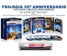 Ritorno Al Futuro Trilogia Cofanetto 7 Blu-Ray 4K UHD Hoverboar Limited 35° Ann