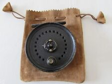 """Vintage Youngs Early beaudex Trout Fly Fishing Reel 3.5"""" étroit tambour + lineguard"""