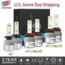 6pcs Combo LED Headlight H7+H11+H11 High+Low Beam+Fog Light Bulbs 3 Sets