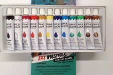 12 Color 12ml Paint Tube Draw Painting Acrylic Colour Set Drawing High Quality