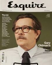 Esquire Jan Feb 2018 Gary Oldman's Finest Hour David Thomson  FREE SHIPPING mc27