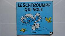 SERIE LES MINI SCHTROUMPFS N°4 LE SCHTROUMPF QUI VOLE 1982