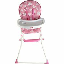 NEW REDKITE FEED ME COMPACT HIGHCHAIR BABY GIRL FEEDING CHAIR PRETTY KITTY PINK