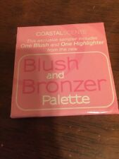 NEW COASTAL SCENTS Blush and Bronzer Palette .023 oz.