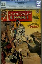 ALL AMERICAN #102- CGC 3.0- LAST GREEN LANTERN ISSUE- TOTH CVR- 1948