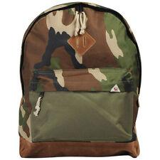 BELLFIELD Men's Mali All Camo Nylon Rucksack Backpack Bookbag Bag