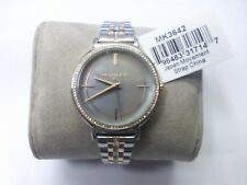 MICHAEL KORS MK3642 Cinthia Grey Mother Of Pearl Ladies Crystal Watch