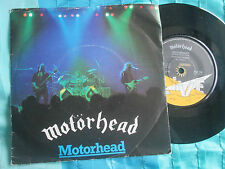 Motörhead ‎– Motorhead   Bronze ‎BRO 124 Picture Sleeve UK 7inch 45 Vinyl Single