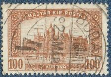 Hungary 1922 Michel 364 Good Used (A1022) with 'Budapest' cds