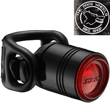 Lezyne Femto Drive Black Alloy Red LED Rear Bicycle Bike MTB Light Commute Road