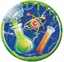 Mad Scientist Birthday Party Supplies Dessert Plates
