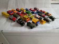 LOT OF 27 VINTAGE 1970'S-1980'S MATCHBOX HOT WHEELS TOOTSIETOY TOY CARS