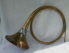 ancien cor trompe de chasse MILLIENS antik hunting horn chasse à courre 40 cm
