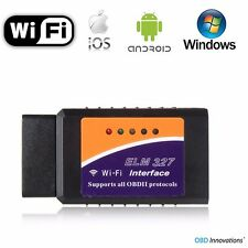 ELM327 WiFi OBD2 Car Diagnostics Scanner Scan Tool for iPhone iOS Android PC Mac