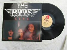 THE RODS LP LIVE music for nations mfn 16 ex.......33rpm / rock
