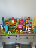 Lego Duplo Bundle, Over 160 Mixed Bricks People, Animals & More