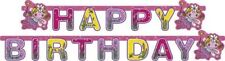 Funky Fairy Pink Girls Fantasy Pixie Letter Banner Birthday Party Decorations