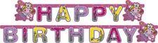 Funky rosa fata ragazze FANTASY Pixie Lettera Banner Festa Di Compleanno Decorazioni