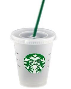 Starbucks Gobelet - Reusable Froid Tasse Avec Couvercle & Paille, 16 OZ / 473 ML