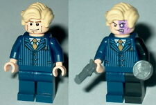BATMAN #16 Lego Harvey Dent Politician - Two Face NEW custom Genuine Lego Parts