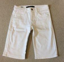 Women's Joe's Stretch Jean Bermuda Shorts White Size W 26