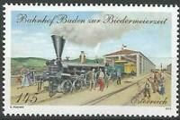 Austria 2013 Transport, Railway Station, Trains, Locomotives MNH**