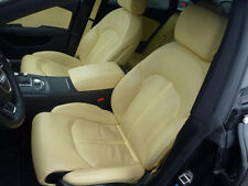 Audi A7 4G Valcona Beige Massage Leather trim Leather seats Premium Equipment