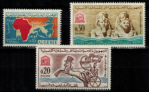 Stamps from Algeria N°386, 387 And 388 New Of 1963