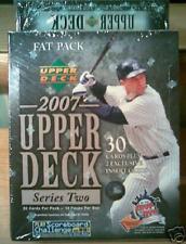 New 2007 UD Upperdeck Series 2 MLB Baseball Fat Pack