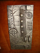 Ron Hitchins Hitchens wall panel 1960s Picasso style