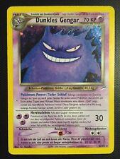 Pokemon!! Dunkles Gengar Neo Destiny 6/105! Holo Rare! EX! DE!