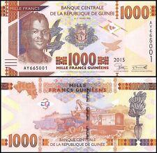 Guinea 1,000 (1000) Francs, 2015, P-NEW, UNC