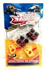 New Powerful Minis Car Vehicle Little Red Trucks Key Launcher Kids Mini Toy