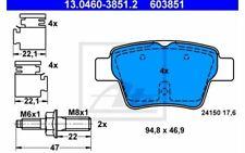 4x ATE Bremsbeläge hinten für PEUGEOT 207 13.0460-3851.2 - Mister Auto