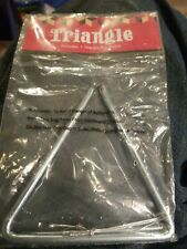 """New 5"""" Musical Metal Triangle with Striker Sealed"""