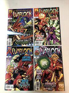 (Adam) Warlock (1998) #1 2 3 4 (VF+/NM) Complete Set Tom Lyle story/art Marvel