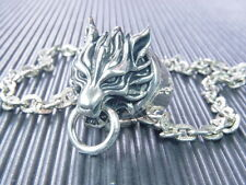 Final Fantasy VII 7 FF7 Cloudy Wolf Ring Necklace
