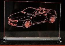 Alfa 147 Spider   LED Leuchtschild Gravur    Alfa Romeo