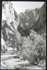 The Crags, South Cheyenne Canyon CO~1940's SANBORN RPPC