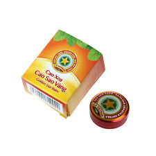 New Golden Star Balm Ointment for Headache Dizziness Insect Stings Heat 4g