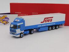 """Herpa 309455 # Scania 143 Kühlkoffer- Sattelzug """" Sties """" (Niederlande) 1:87 NEU"""