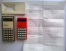 RARE Sinclair Cambridge Memory Calculator Type 3 - Vintage 1970s In original Box
